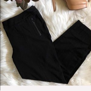 Talbots Black Cropped Pants